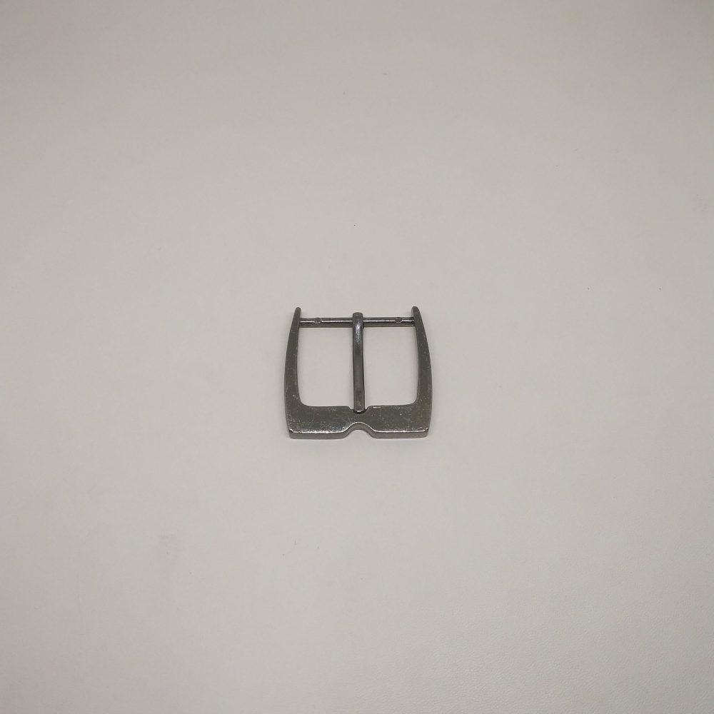 30mm (In-Belt Width) Teeth Shape Zinc Alloy Metal Pin Buckle