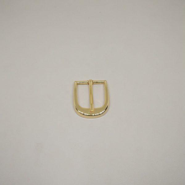 25mm (In-Belt Width) Curved Zinc Alloy Metal Pin Buckle