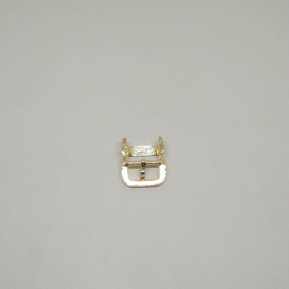 14mm (In-Belt Width) European Style Metal Middle Pin Buckle