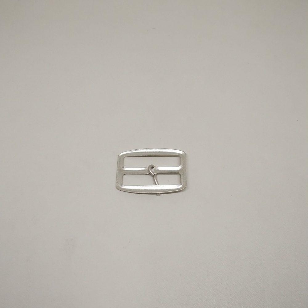 32mm (In-Belt Width) Flat Thin Metal Middle Pin Buckle