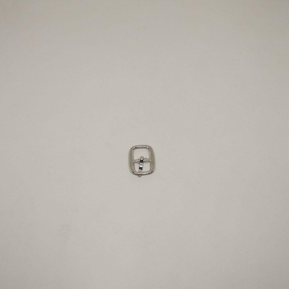 9mm (In-Belt Width) Small Oval Metal Pin Buckle