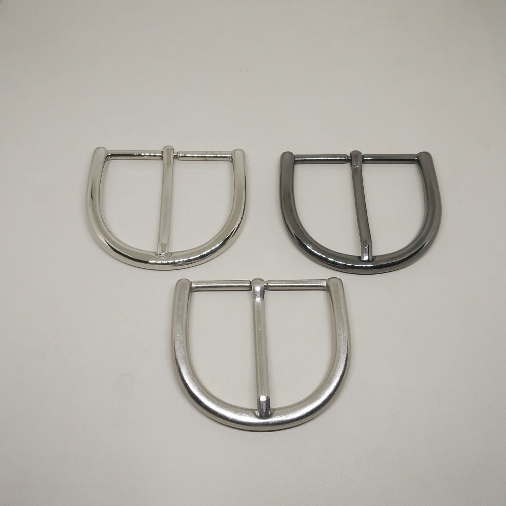 50mm (In-Belt Width) Big Curved Metal Pin Buckle