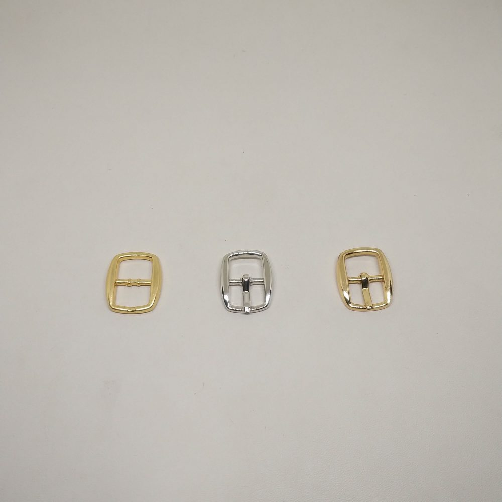 11mm (In-Belt Width) Small Oval Metal Pin Buckle