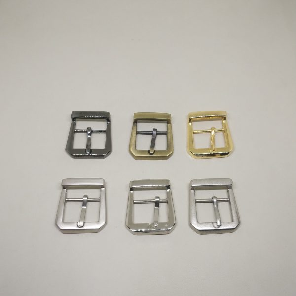 20mm (In-Belt Width) European Style Metal Middle Pin Buckle for Handbag