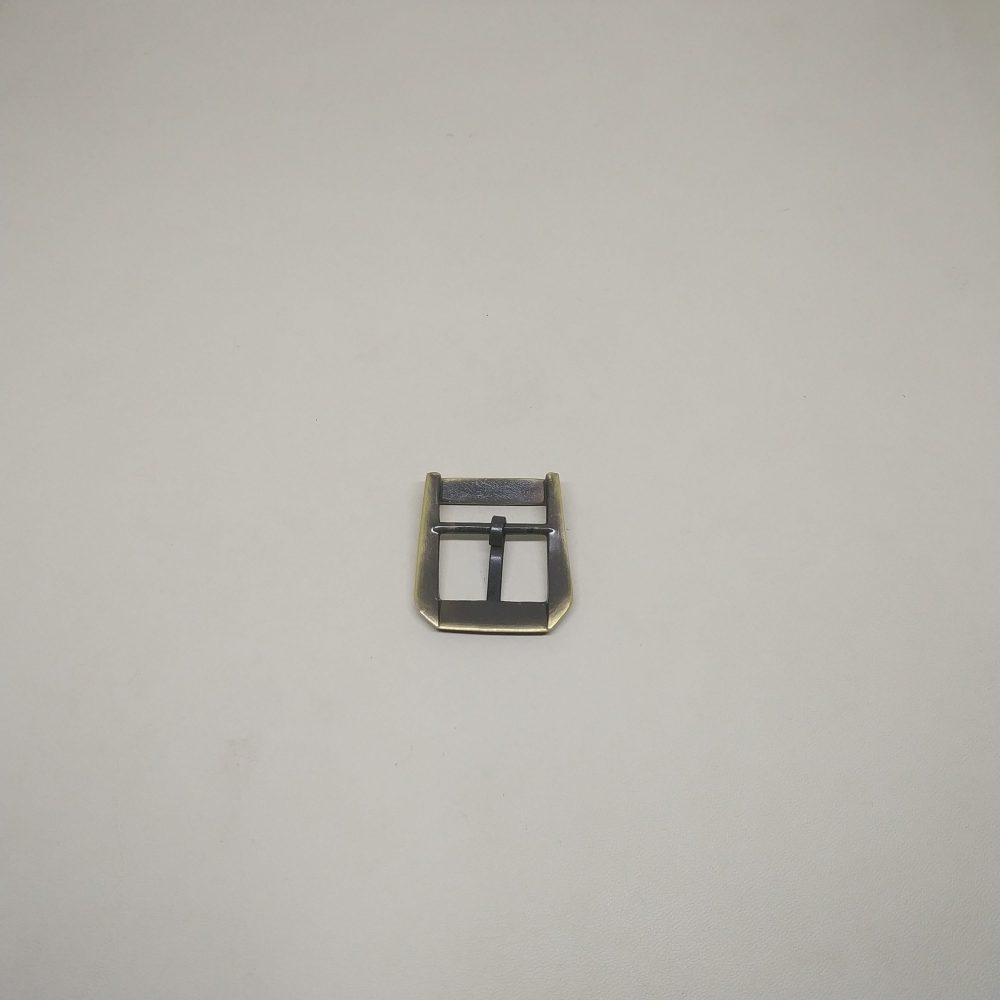 20mm (In-Belt Width) European Style Metal Middle Pin Buckle for Handbag