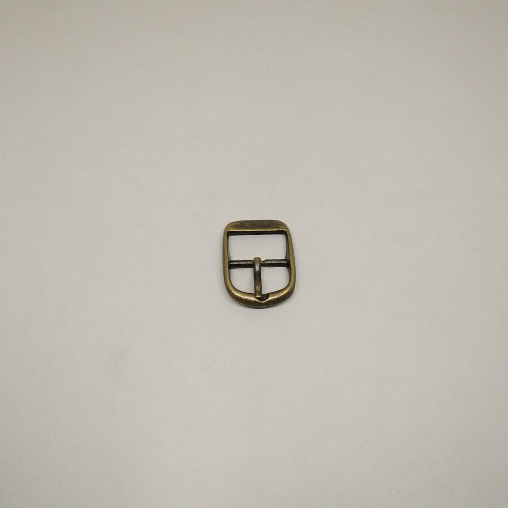 19mm (In-Belt Width) European Style Metal Middle Pin Buckle
