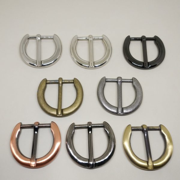 25mm (In-Belt Width) D Round Ring Zinc Alloy Metal Pin Buckle for HandBag