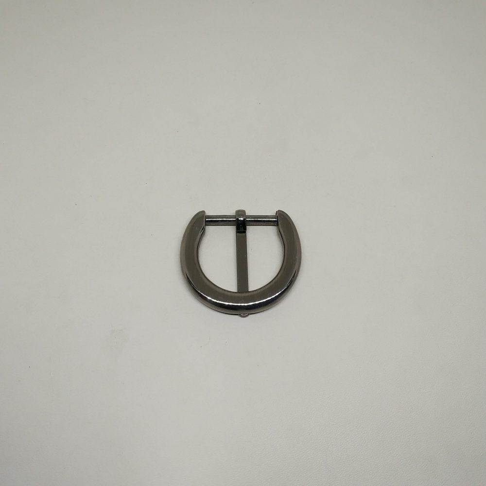 25mm (In-Belt Width) D Round Ring Zinc Alloy Metal Pin Buckle for HandBag