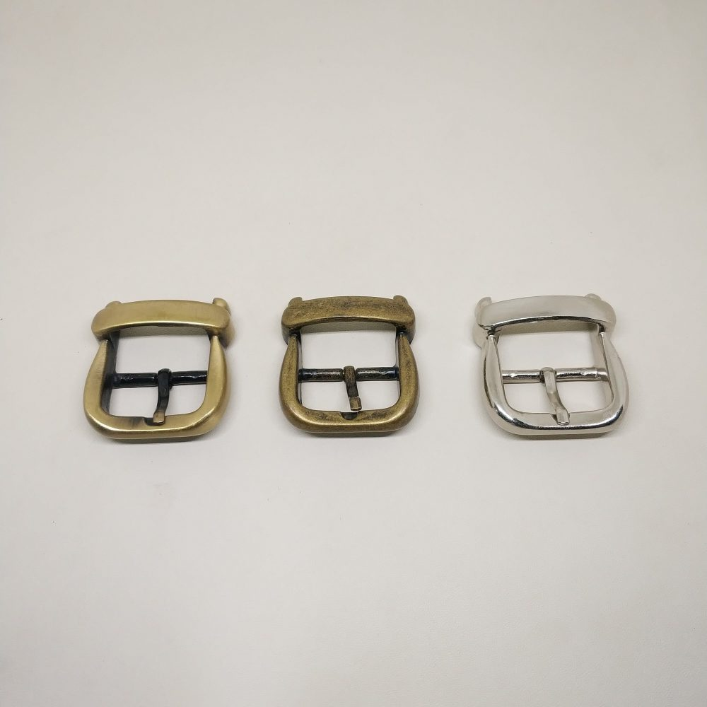 26mm (In-Belt Width) European Style Metal Middle Pin Buckle for Handbag Parts