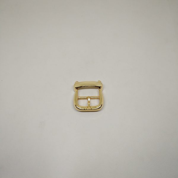 22mm (In-Belt Width) European Style Metal Middle Pin Buckle for Bag Parts