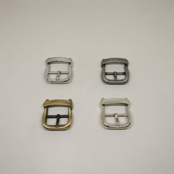 20mm (In-Belt Width) European Style Metal Middle Pin Buckle for Handbag Accessories