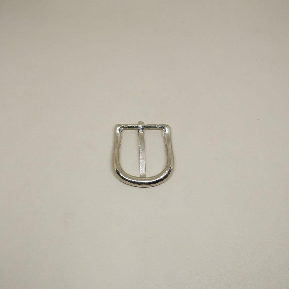 24mm (In-Belt Width) Curved Metal Pin Buckle