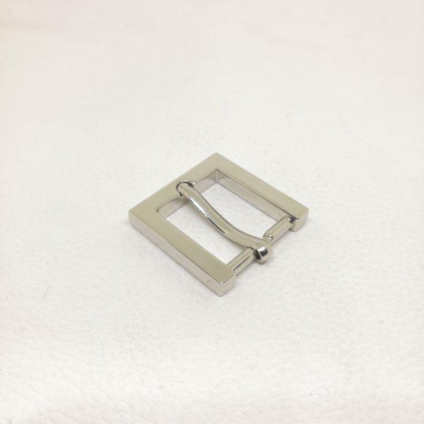 20mm (In-Belt Width) Metal Rectangular Pin Buckle for Belt / Bag Use