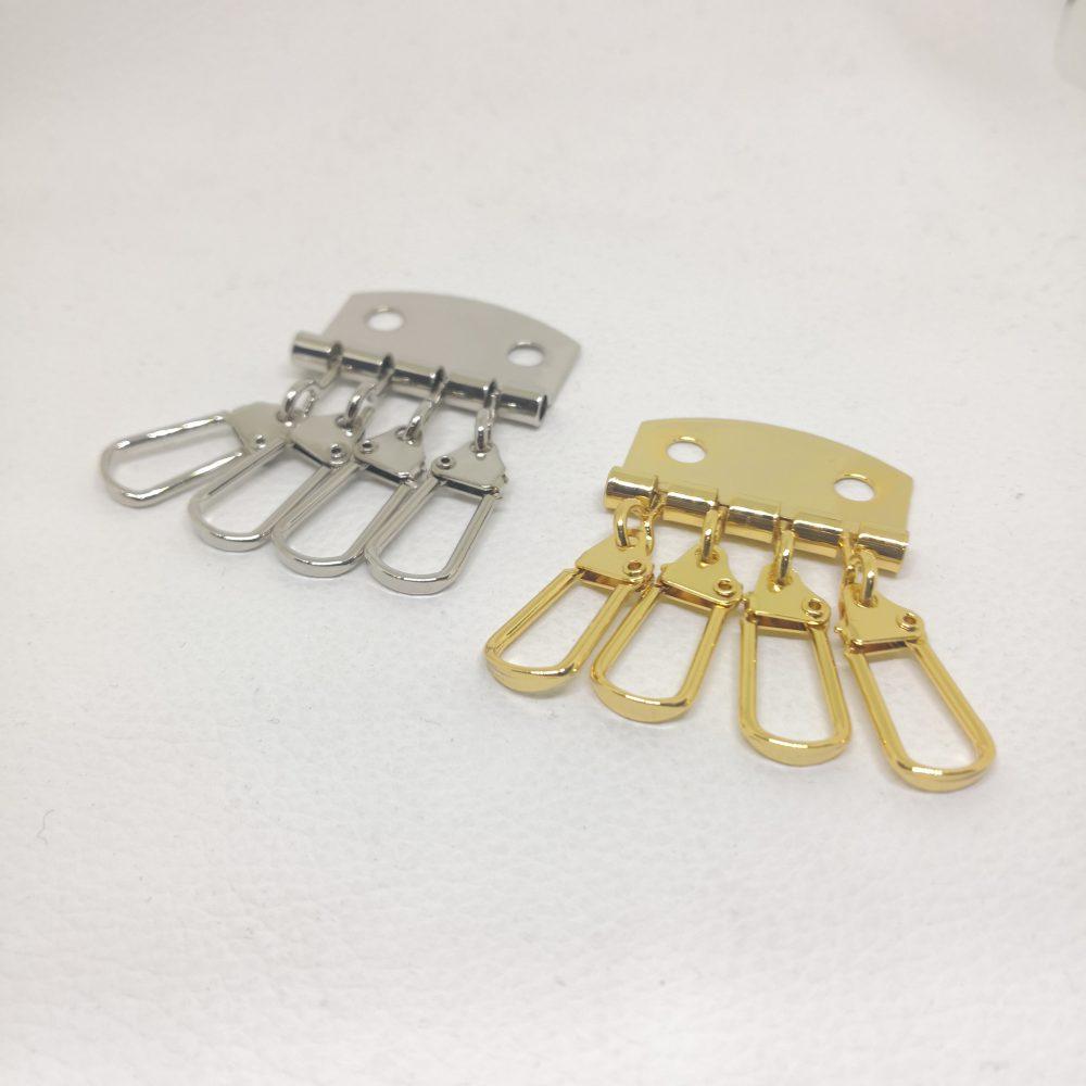 Iron Metal Key Holder with 4 Key Hook