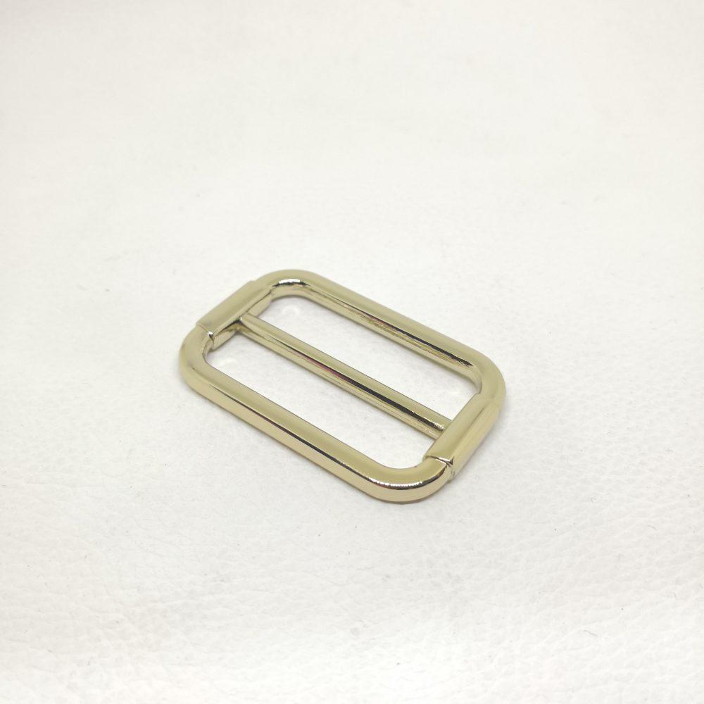 38mm (In-Belt Width) Zinc Alloy Metal Slide Buckle for DIY Leather Bag Making