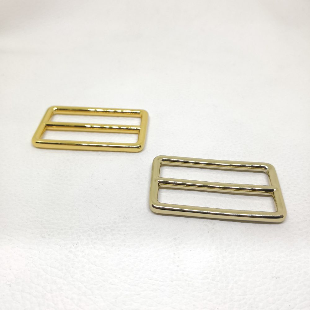 40mm (In-Belt Width) Zinc Alloy Metal Slide Buckle for DIY / Bag Making