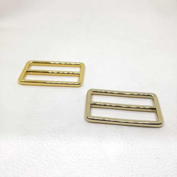 40mm (In-Belt Width) Zinc Alloy Metal Slide Buckle for DIY / Bag Making