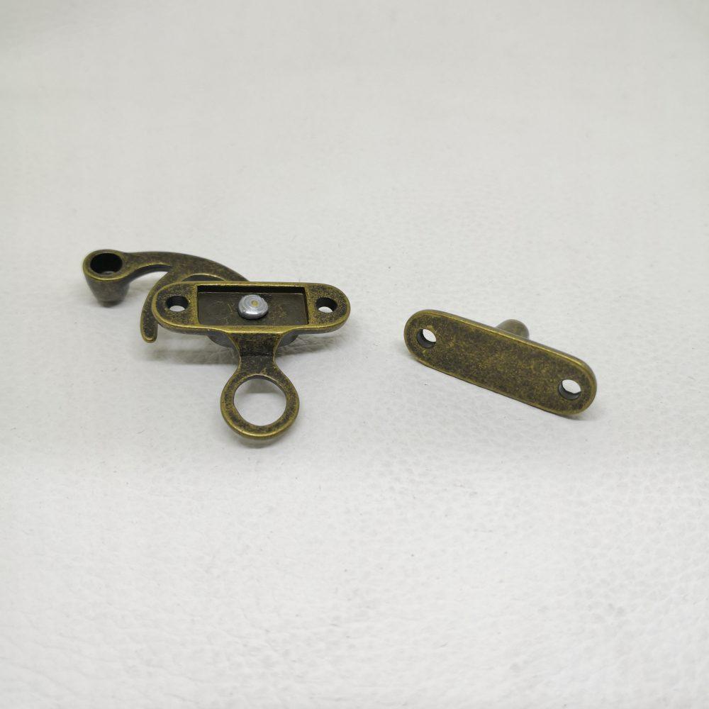 Classic Vintage Old School Box Clasp Metal Lock