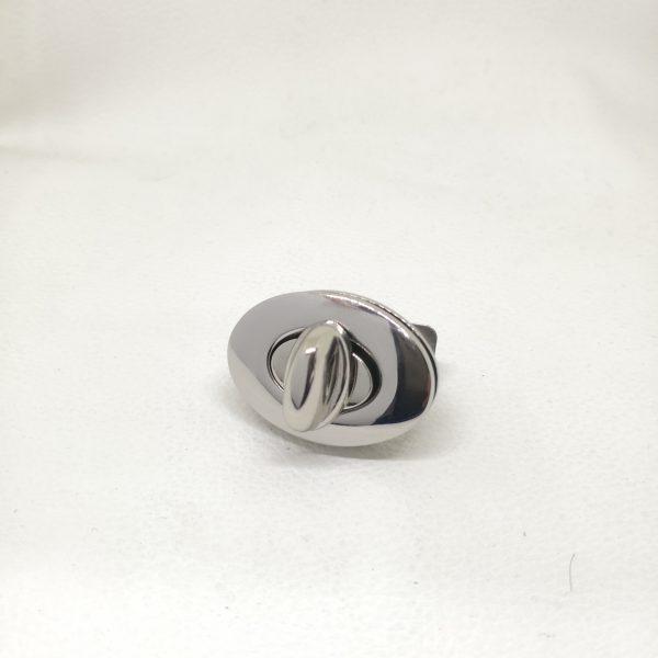 37mm Zinc Alloy Metal Oval Round Turn Lock