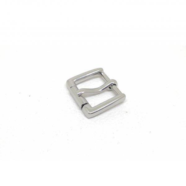 20mm (In-Belt Width) Metal Rectangular Rolling Pin Buckle for Belt / Bag Use