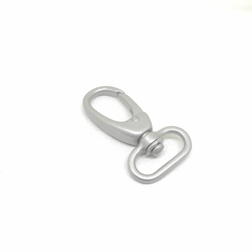 25mm (In-Belt Width) 1 inch Zinc Alloy Metal Snap Dog Hook for Dog Collar / D.I.Y. Leather / Handbag Making Use