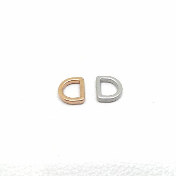 10mm (In-Belt Width) Metal D Ring for Handbag / Fashion Maker Use