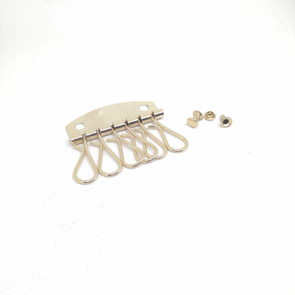 Iron Metal Key Holder with 6 Key Hook