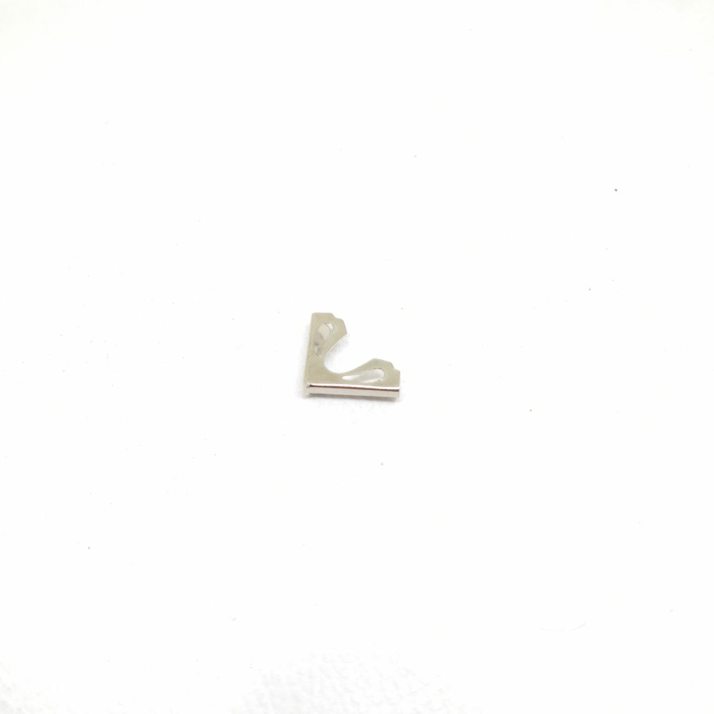 16mm Water Drop Pattern Metal Corner Protector for Book or Photo Frame Use