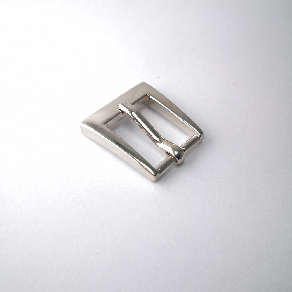 15mm (In-Belt Width) Metal Square Pin Buckle for Belt / Handbag / Purse Use