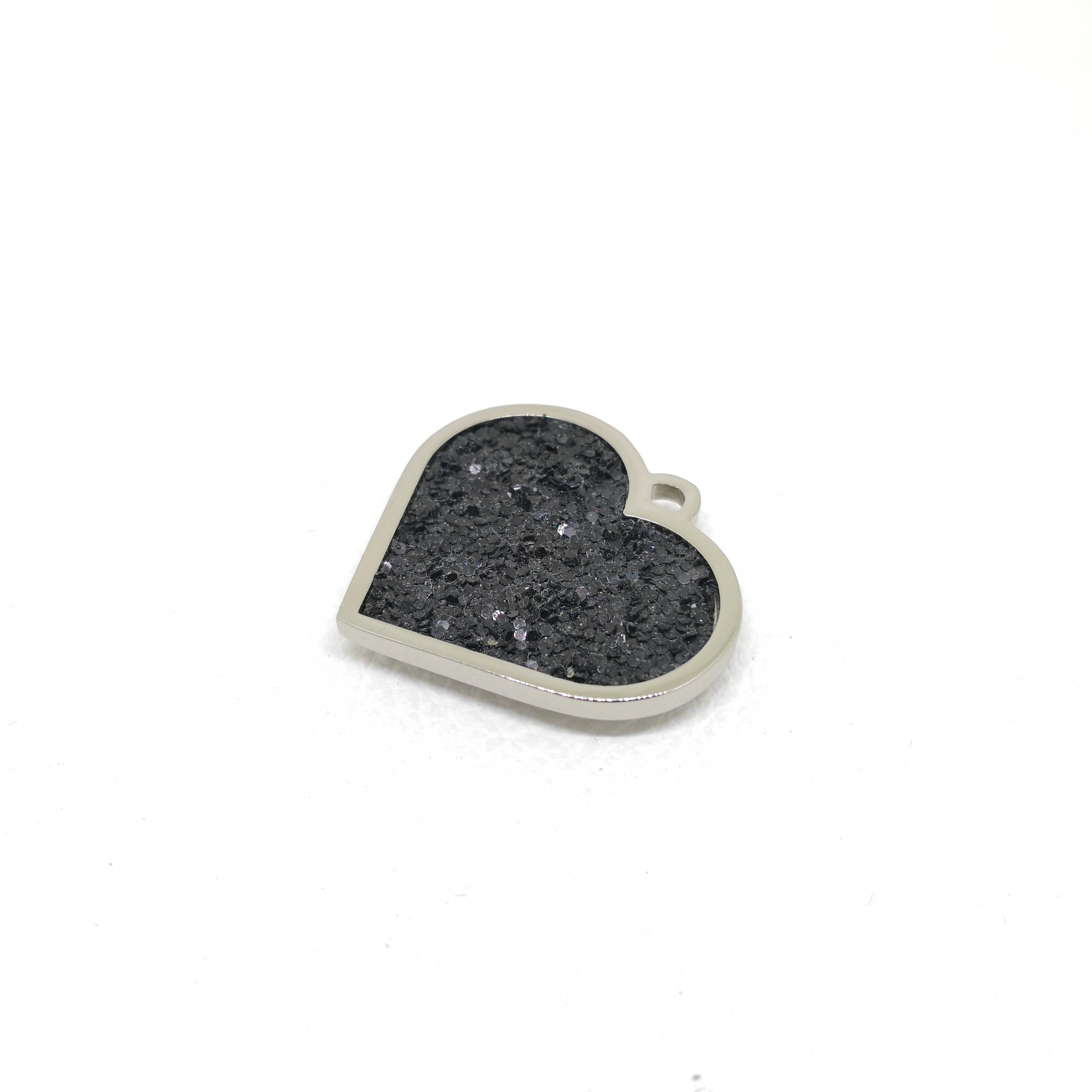 Hang Tag - Heart (Black)