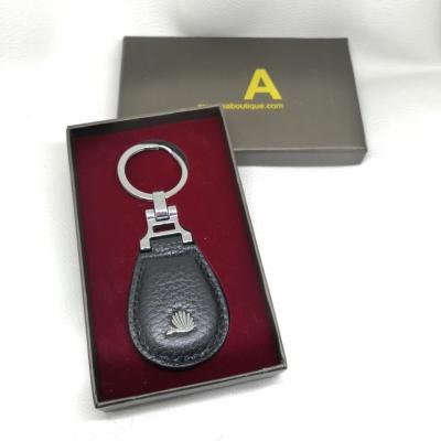 ISA Leather Key Ring (2)